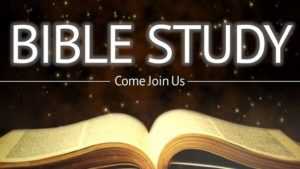 Thursday night Bible Study @ Conference Room