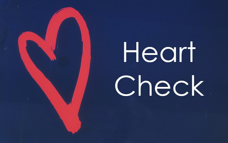 Heart Check: Dealing With Greed