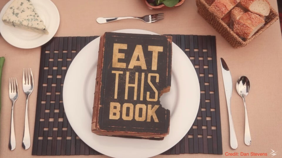 """Eat This Book…. Study Continued """"Common Sense"""""""