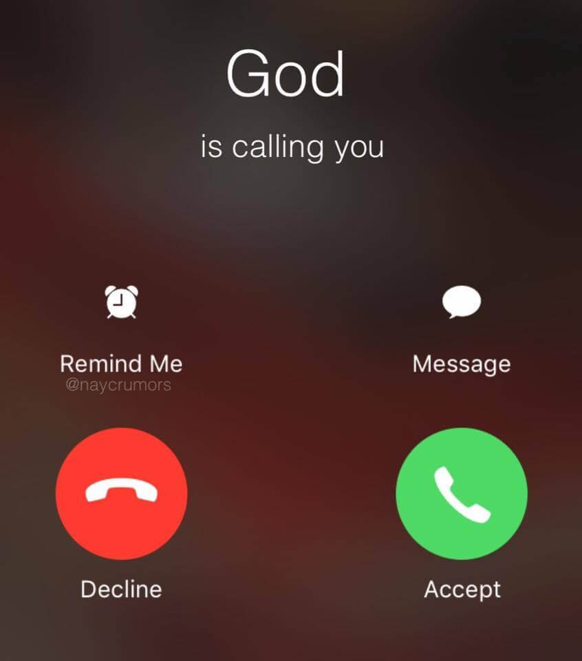Will You Take The Call